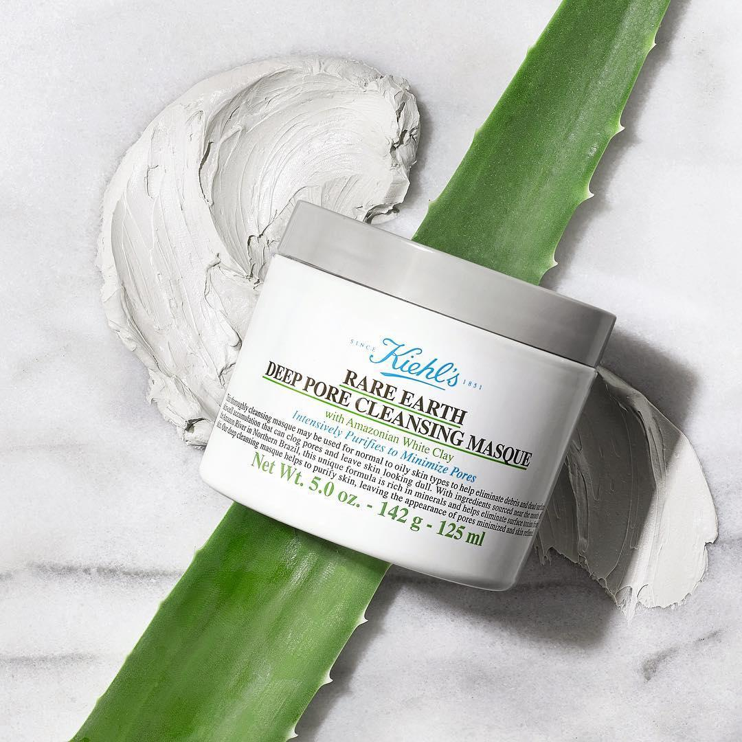 Mặt nạ ngủ Kiehl's Rare Earth Deep Pore Cleansing Masque