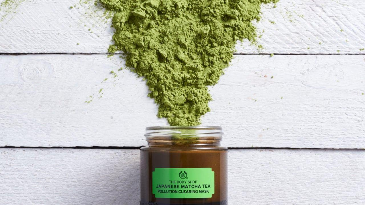 Mặt Nạ The Body Shop Thanh Lọc Da Japanese Matcha Tea Pollution Clearing Mask