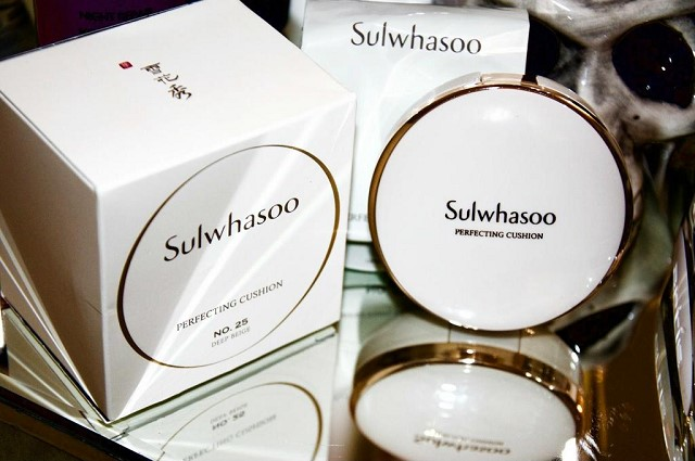 Sulwhasoo voi lop nen min muot lau troi trong ngay dai