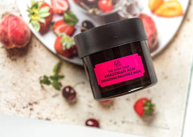 mat na The Body Shop cap nuoc British Rose Fresh Plumping Mask